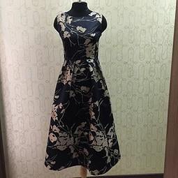 Работа с названием Нарядное платье