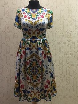 Работа с названием Мое платье DG Majorica