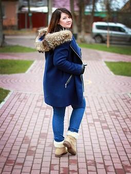 Работа с названием Пальто-куртка