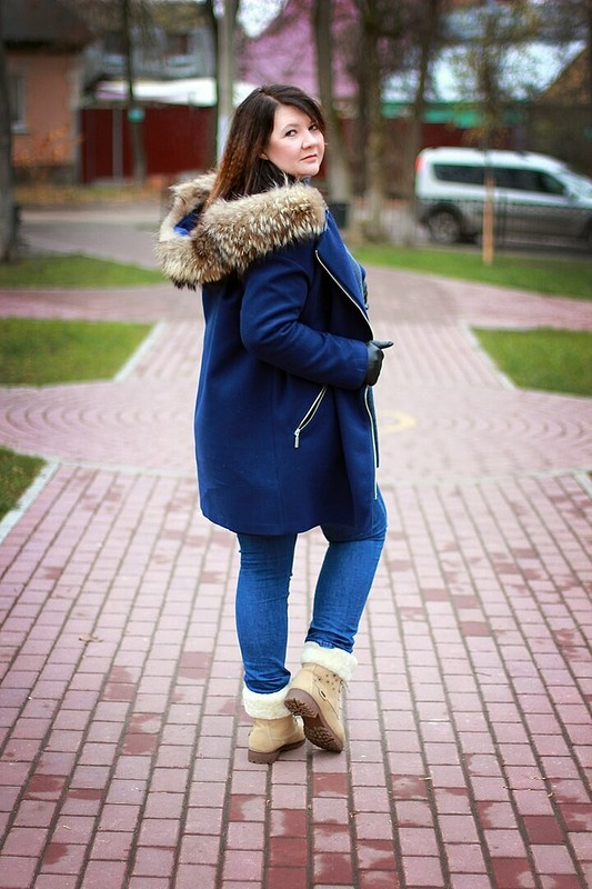 Пальто-куртка от ludmilakaluga