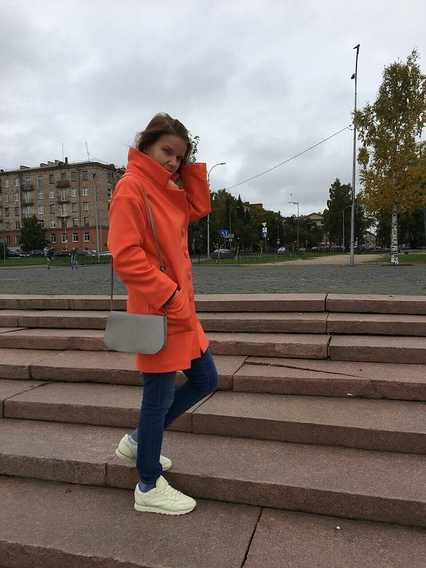 Морковное пальто