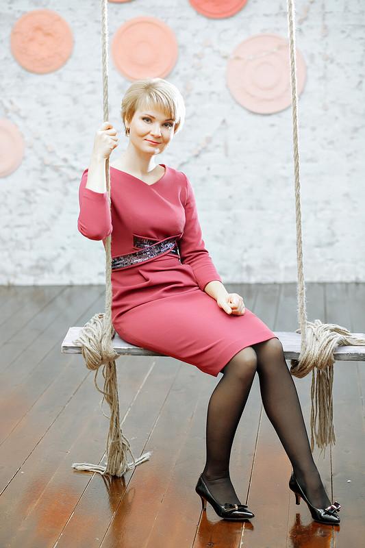 Платье сизюминкой от NasGys