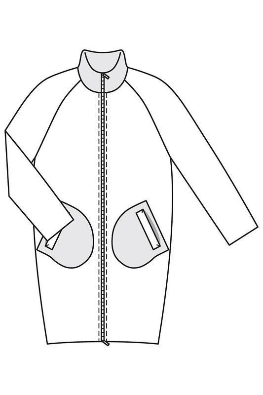 Пальто набукву «О» от Lolitafly