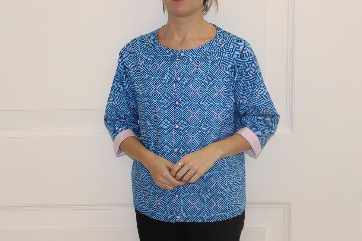 Жакет Геометрия