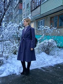 Работа с названием Утеплённое осеннее пальто