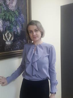 Работа с названием Блузка с обложки
