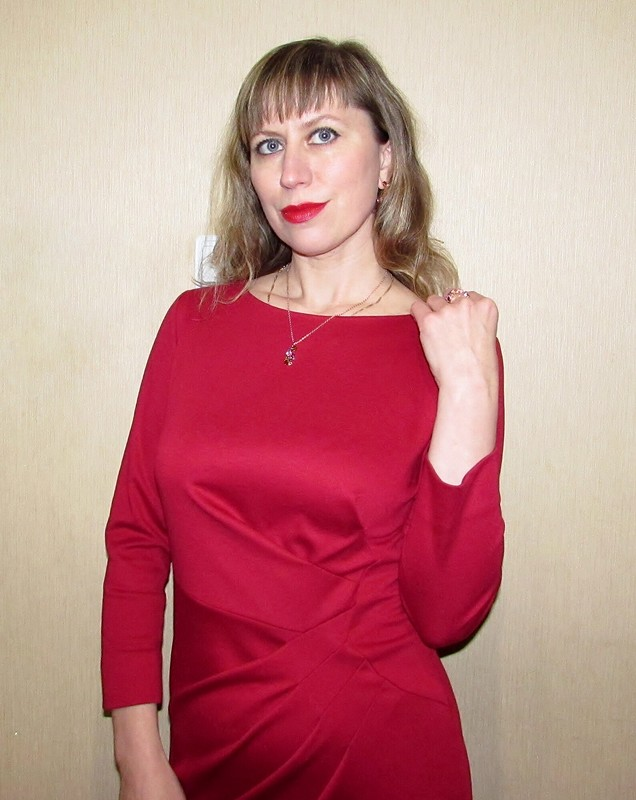 Платье сдрапировками от ket30
