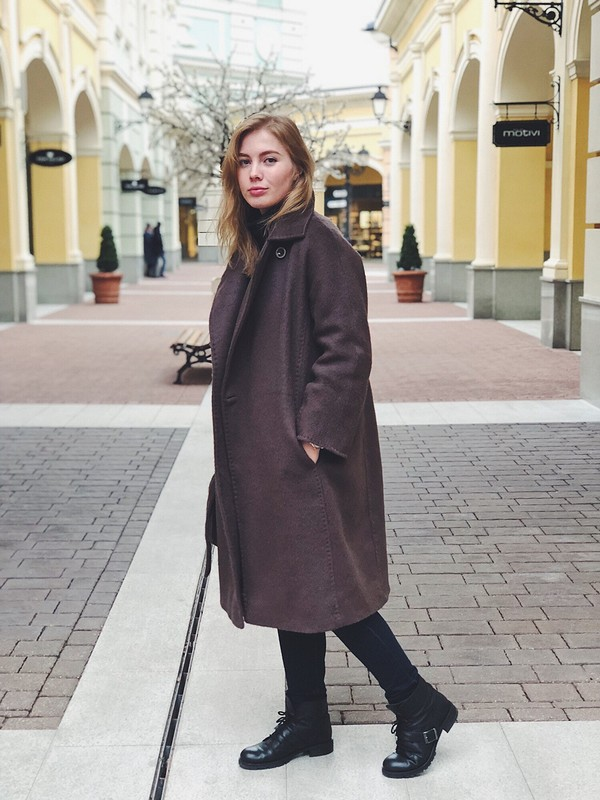 Пальто длиной внеделю