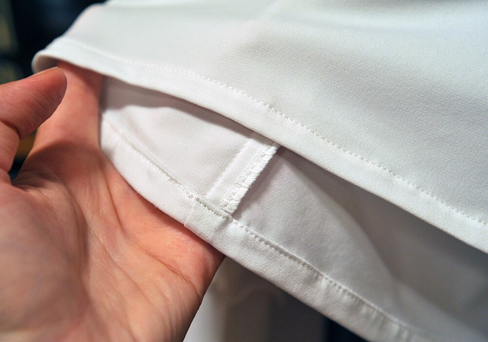 Белая блузка изтрикотажа-масло от kinderssurprizom