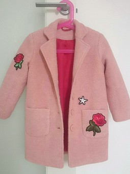 Работа с названием Пальто для дочки