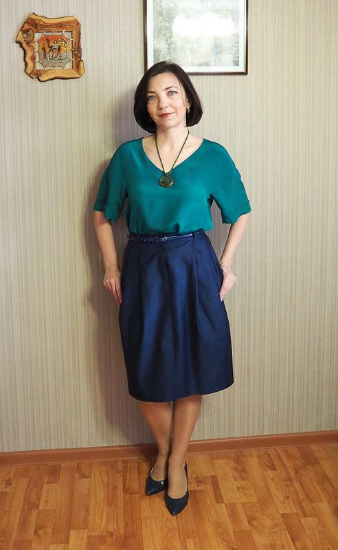 Сине-зеленый комплект