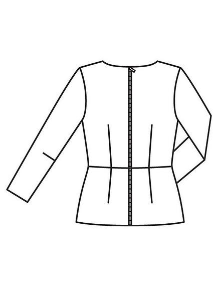 Как сшить блузку соригинальной драпировкой изBurda 12/2017