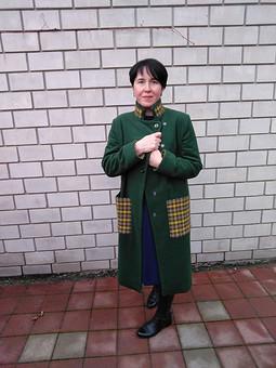 Работа с названием А это пальто, остатки которого отлично пристроила