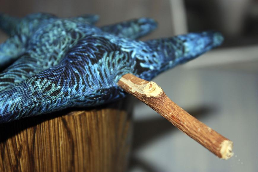 Текстильная елочка встиле Тильда