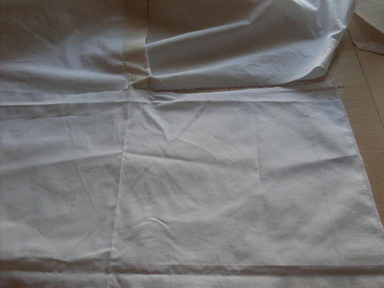 Белая блузка срукавами изшелковой органзы