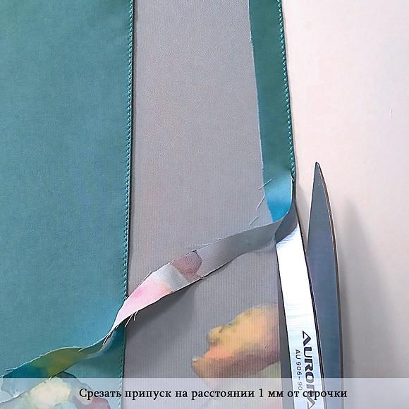 Московский шов: мастер-класс