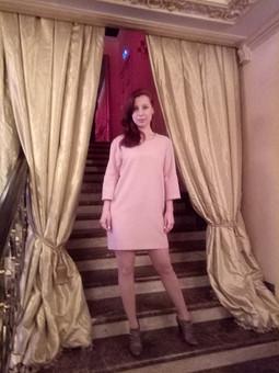 Работа с названием Новогоднее мини платье