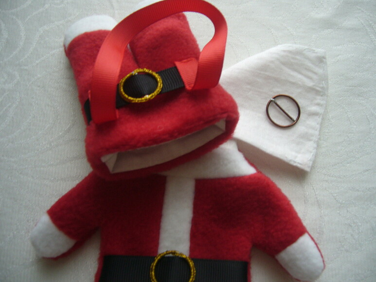 Чехольчики «Костюмчик Санта-Клауса» дляновогодних сюрпризов