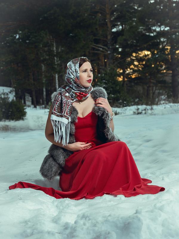 Таня вКрасном от Татьяна SGIBNEVA