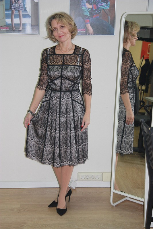 Новогоднее кружевное платье)) от светлана