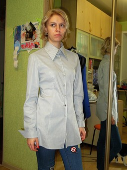 Работа с названием Блузка для дочки