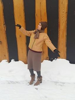 Работа с названием Второе дыхание или Вкусная куртка  на зиму !