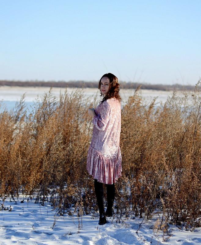 Платье «Павлиний хвост»