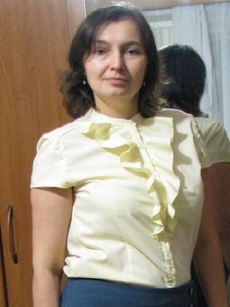 Работа с названием Блузка-рубашка №103