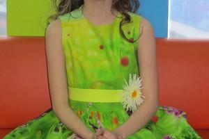 Платье «Цветущий луг» для девочки