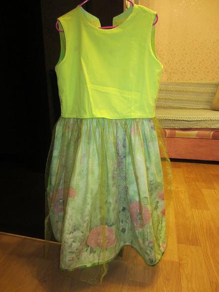 Платье «Цветущий луг» длядевочки