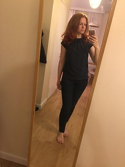 Работа с названием Блуза - шёлк