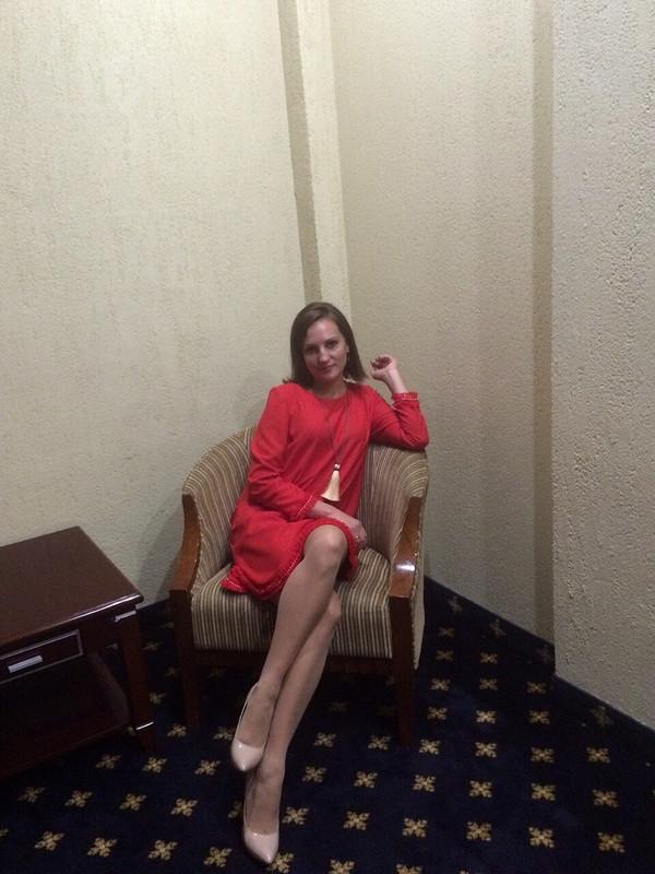 Красное платье от anynya