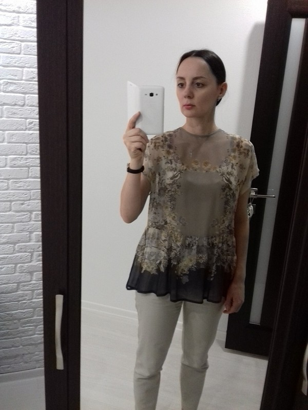 Летняя блузка от Anastasia1402