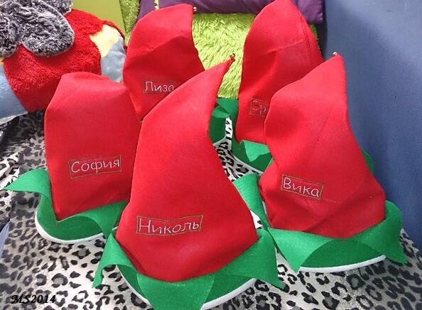Двухсторонние шапки наРождество от MariiaS