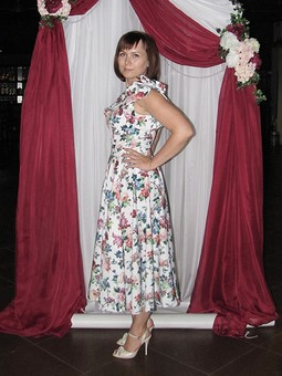 Работа с названием Платье-костюм