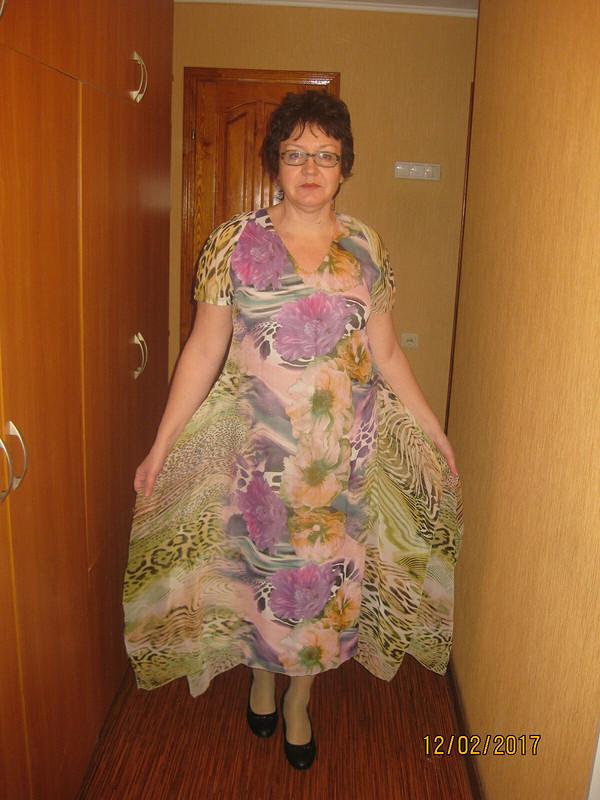 Платье изкупонной ткани от STI