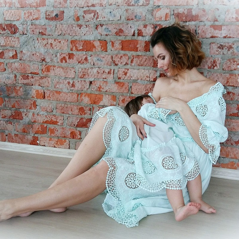 Фэмили лук «Menta Mamma» от AlexandraMaiskaya