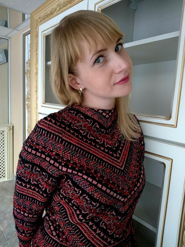 Платье а-ля-рус от AnnaVoltoni