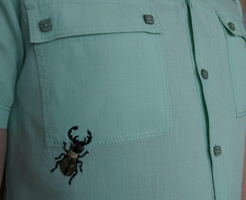 Рубашка «Жуки» от vasya85