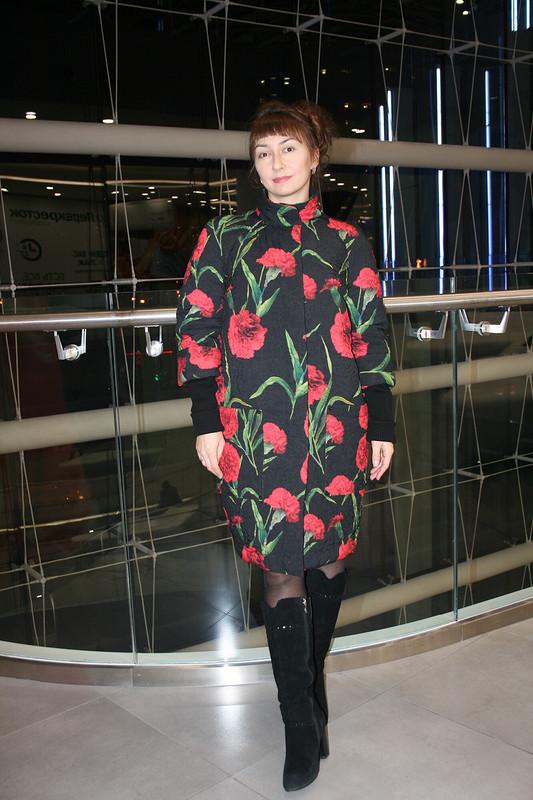 Пальто - гвоздики от JuliaW