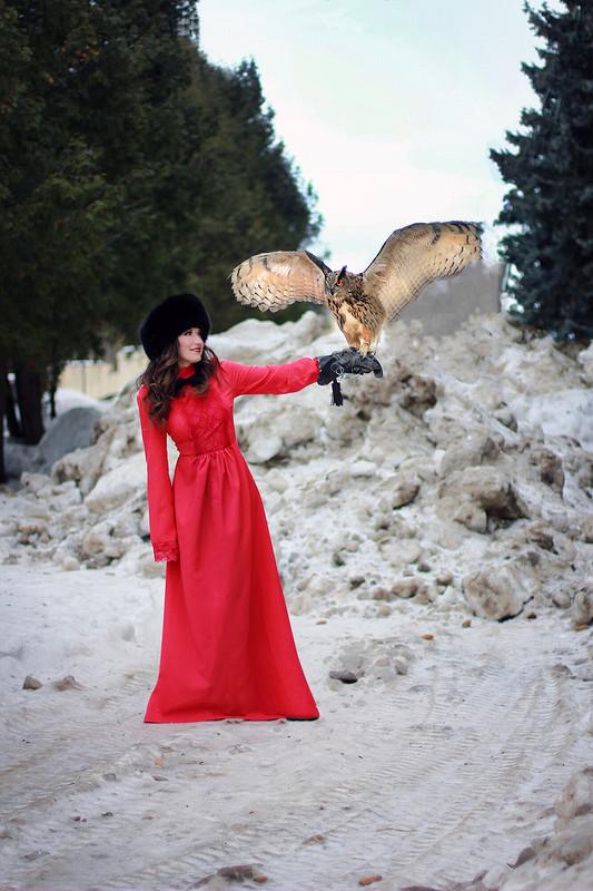 Очередное платье дляпроекта от ludmilakaluga