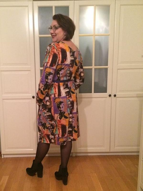 Дама с«Дамой» или мое ушастое платье