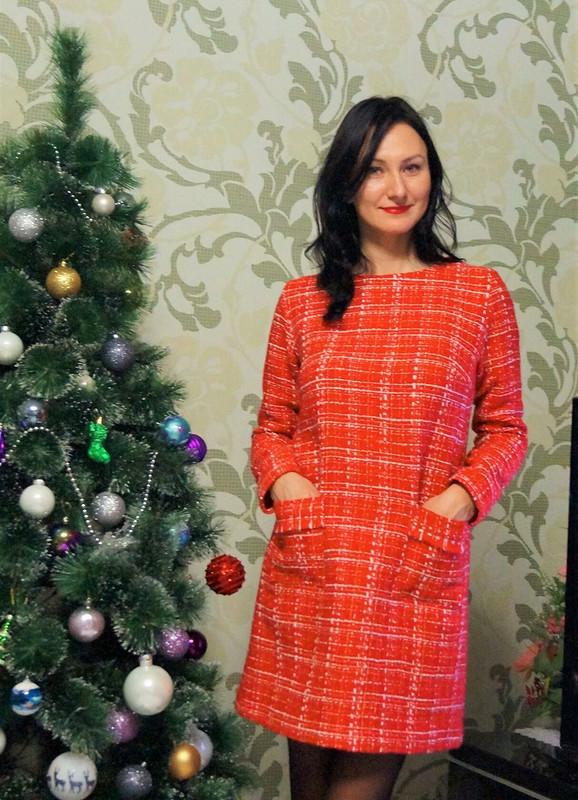 Зимнее платьице