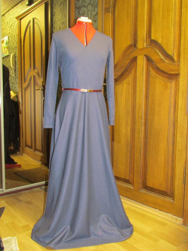 Платье сзапахом от marina_mandarina