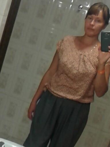 Блузка изКнипа от ЮИсаева
