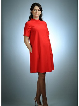 Работа с названием Платье для беременных, третий заход