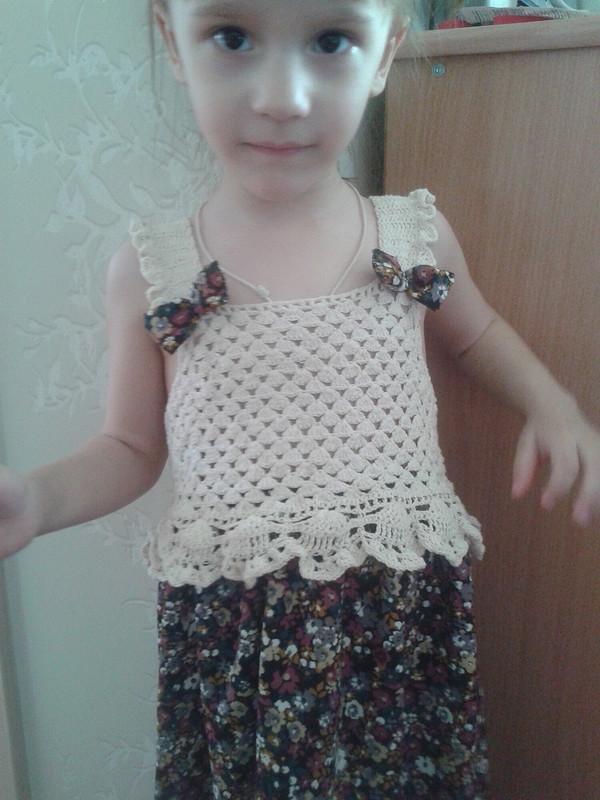 Вязание+шитье получилось красота от Natasha-style