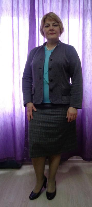 Жакет серенький от оксюморон
