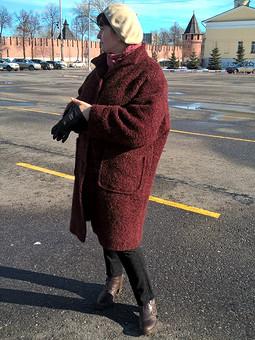 Работа с названием Пальто утепленное