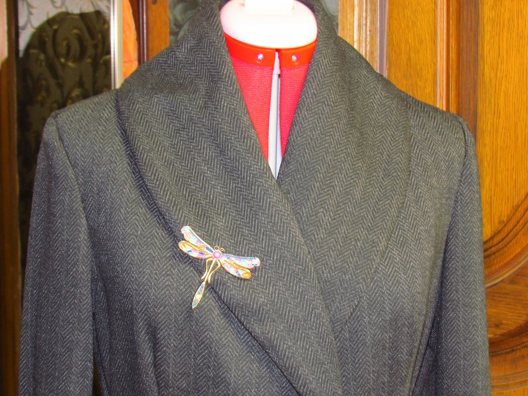 Пиджак шалька
